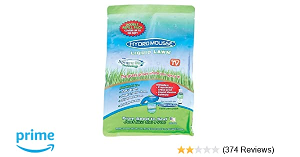 Amazon Com Hydro Mousse Liquid Lawn Refill Pack 2lb Bag