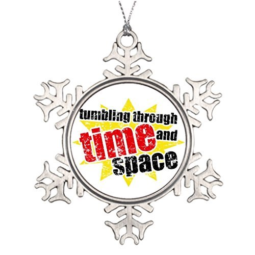 Metal Ornaments Large Christmas Tree Snowflake Ornaments Tumbling Through Time And Space Christmas Trees Decorating (Halloween Papier Mache Ideas)