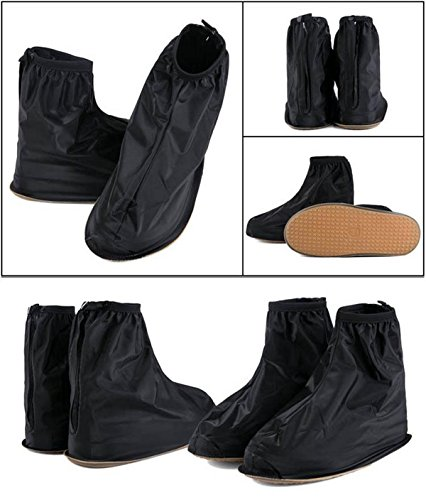 COSMOS 1 Pair Anti-slip Rain Shoe Covers Shoes Boot Size