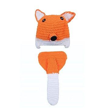 YYCLOTH Conjunto de Traje de bebé de Punto de Crochet Unisex ...