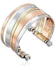 """BCBGeneration Tri-Tone Cuff Bracelet, 6"""""""