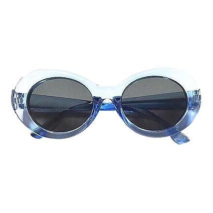 Gafas de sol Mujer Hombre unisex polarizadas deportivas Rapero oval Sombras Vidrios de Grunge sunglasses Gafas