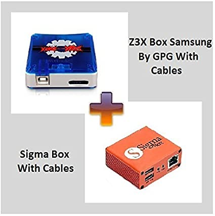 Amazon com : Z3X Box Samsung by GPG with Sigma Box Activated