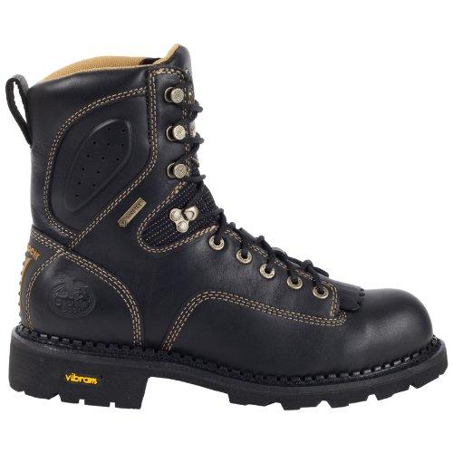 Georgia Boot G029 Men's 9-in Gore-Tex ComfortCore CT Logger Black 11.5 M US