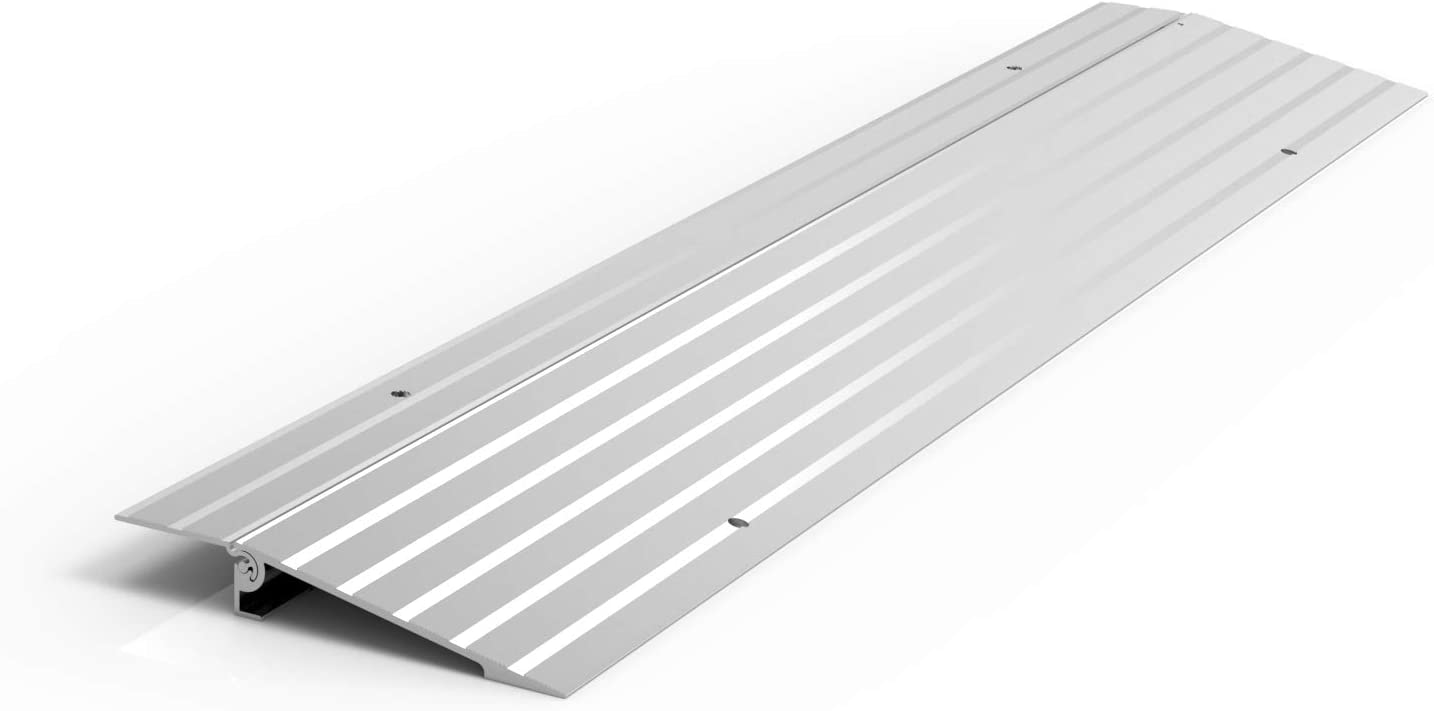 "EZ-ACCESS TRANSITIONS Modular Aluminum Entry Ramp, 1"" Rise: Industrial & Scientific"