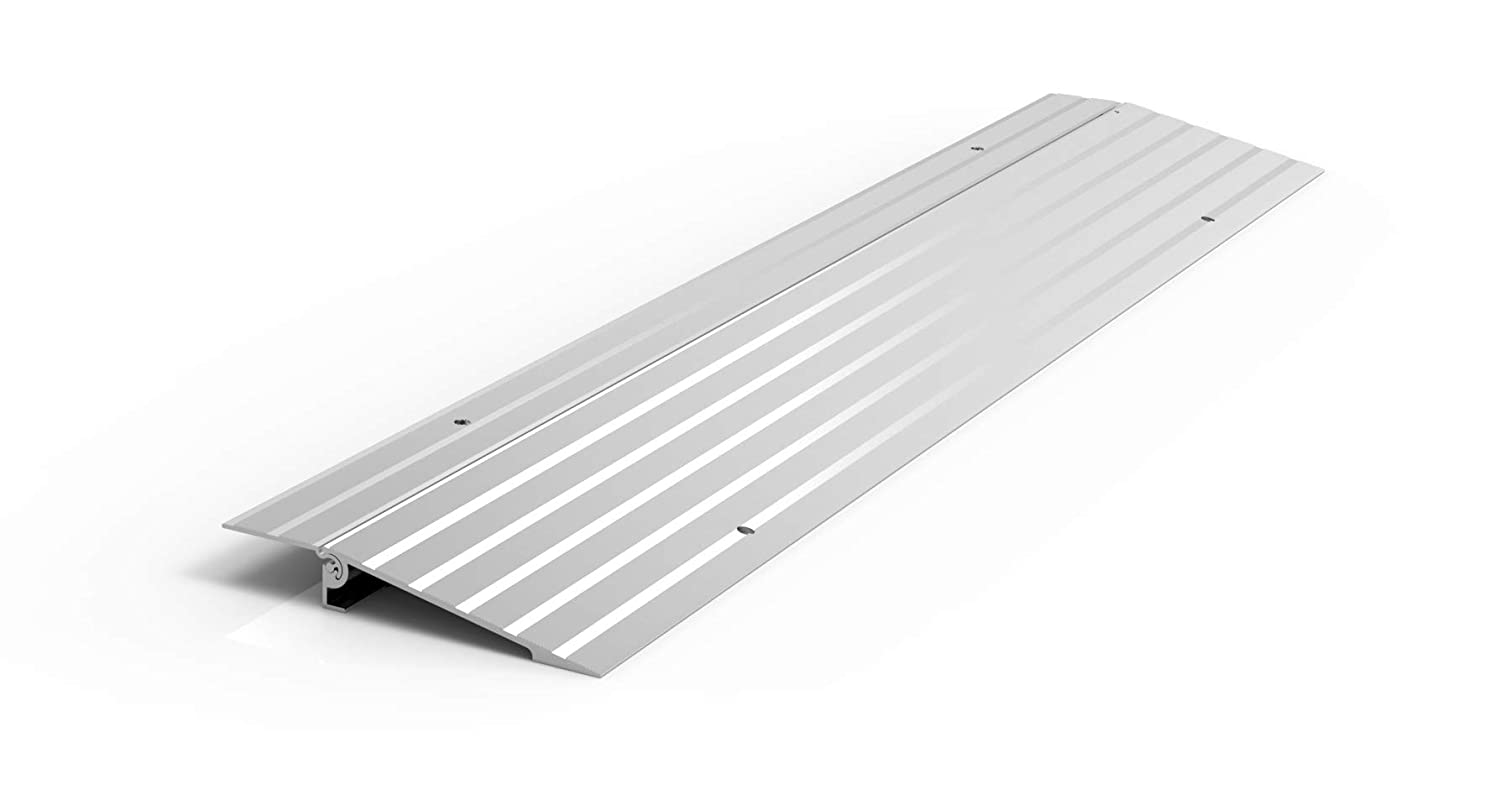 "EZ-ACCESS TRANSITIONS Modular Aluminum Entry Ramp, 1"" Rise"