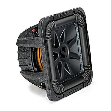 Kicker L7S Solo-Baric 10 Inch 1200 Watt 2 Ohm DVC Square Subwoofer | 44L7S102