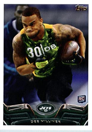2013 Topps NFL Football Card   49 Dee Milliner Rookie Card New York Jets 8e1c79122