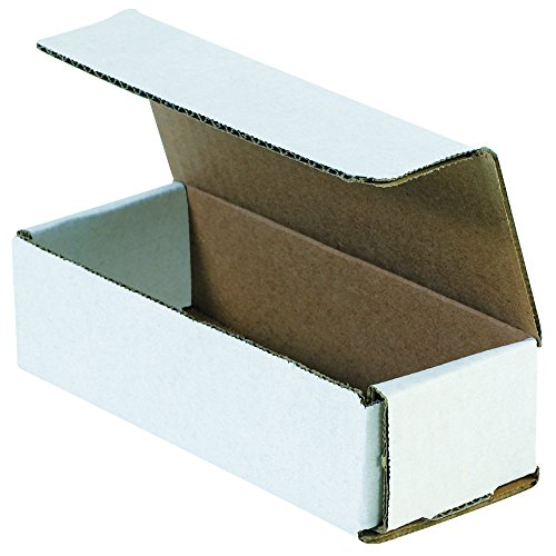 "Aviditi M1243 Corrugated Mailers, 12"" x 4"" x 3"", Oyster White (Pack of 50)"