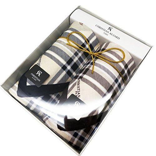 Leevo Handkerchief Men Assorted Woven Cotton 100% Hankies Fashion 4pack Bulk Value Pack (17.5inch 2pack gift box no.1)
