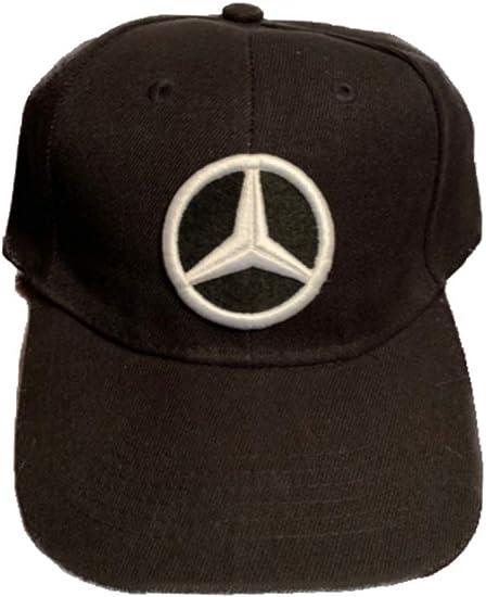 Mercedes Baseball Cap Embroidered Auto Logo Mercedes Benz Adjustable Hat