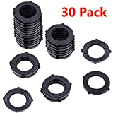 HQMPC Hose Seals Garden Hose Washer Hose Gaskets 30Pcs for Leak Proof