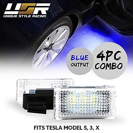 UK Stock Ultra Bright LED Interior Upgrade Light For Tesla Model S 3 X