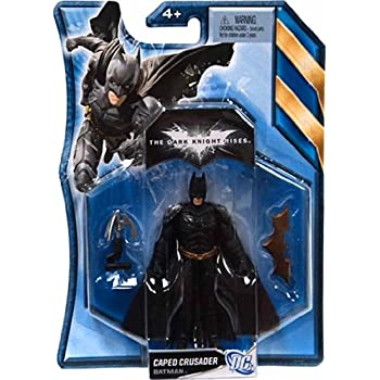 Batman, The Dark Knight Rises Movie Action Figure, Caped Crusader Batman, 4 Inches