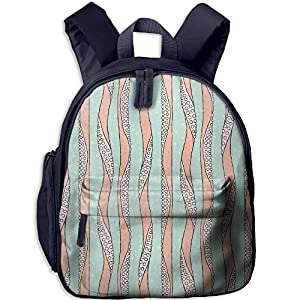 JF-X Children Schoolbag Octopus 17 Oxford Shoulder Bag Bookpack Backpack
