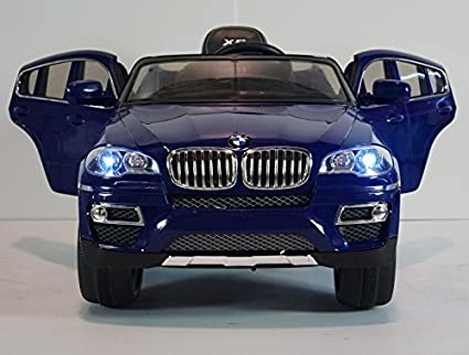 Amazon Com Children Ride On Electric Car Baby Blue Bmw X6 With