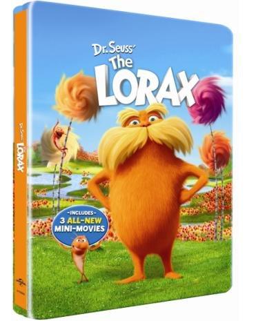 Dr. Seuss' The Lorax Blu-ray SteelBook (Two Discs: Blu-ray + DVD + Digital Copy)