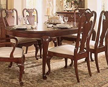 American Drew Cherry Grove Oval Leg Formal Dining Table In Finish