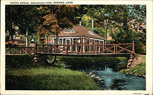 side Park Meriden, Connecticut Original Vintage Postcard ()