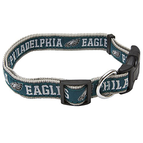 Pets First Nfl Philadelphia Eagles Pet Collar  Large