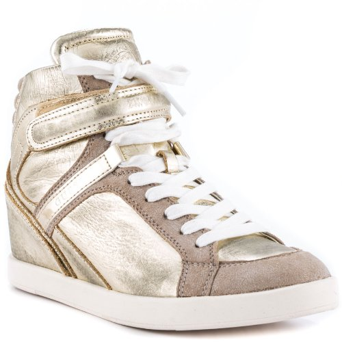 Guess Shoes Perina 9 – Gold Leather