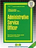 Administrative Service Officer, Jack Rudman, 083730010X