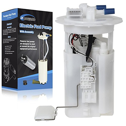POWERCO Fuel Pump Module Assembly For 00-06 Nissan Sentra 2000 2001 2002 2003 2004 2005 2006 17040-8U002 by POWERCO