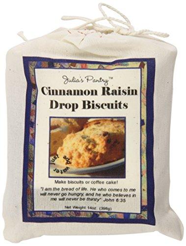 Julia's Pantry Biscuits, Cinnamon Raisin, 14 Ounce