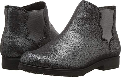 (Stride Rite Girls' SR Isabella Boot Fashion, Black Sparkle, 1 M US Little Kid)