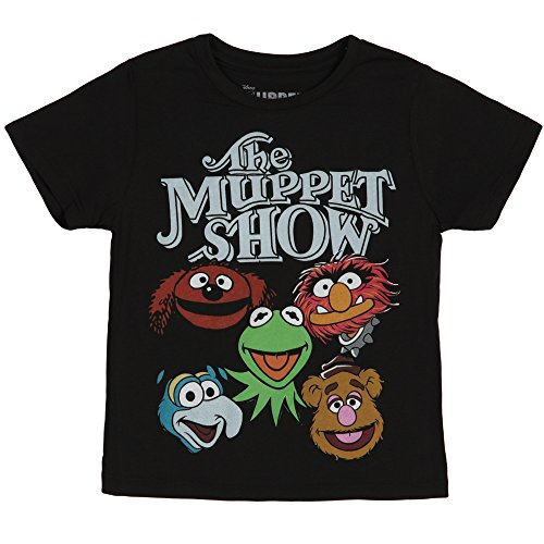 The Muppets Show Childrens T-Shirt-Black (Juvenile 4)