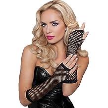 Seven 'til Midnight Fingerless Elbow Fishnet Gloves - 40121