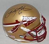 Autographed Leroy Butler Mini Helmet - Fsu Florida State Seminoles Coa - Autographed College Mini Helmets