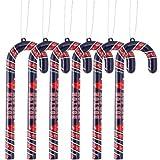 MLB Boston Red Sox Candy Cane Ornament Set