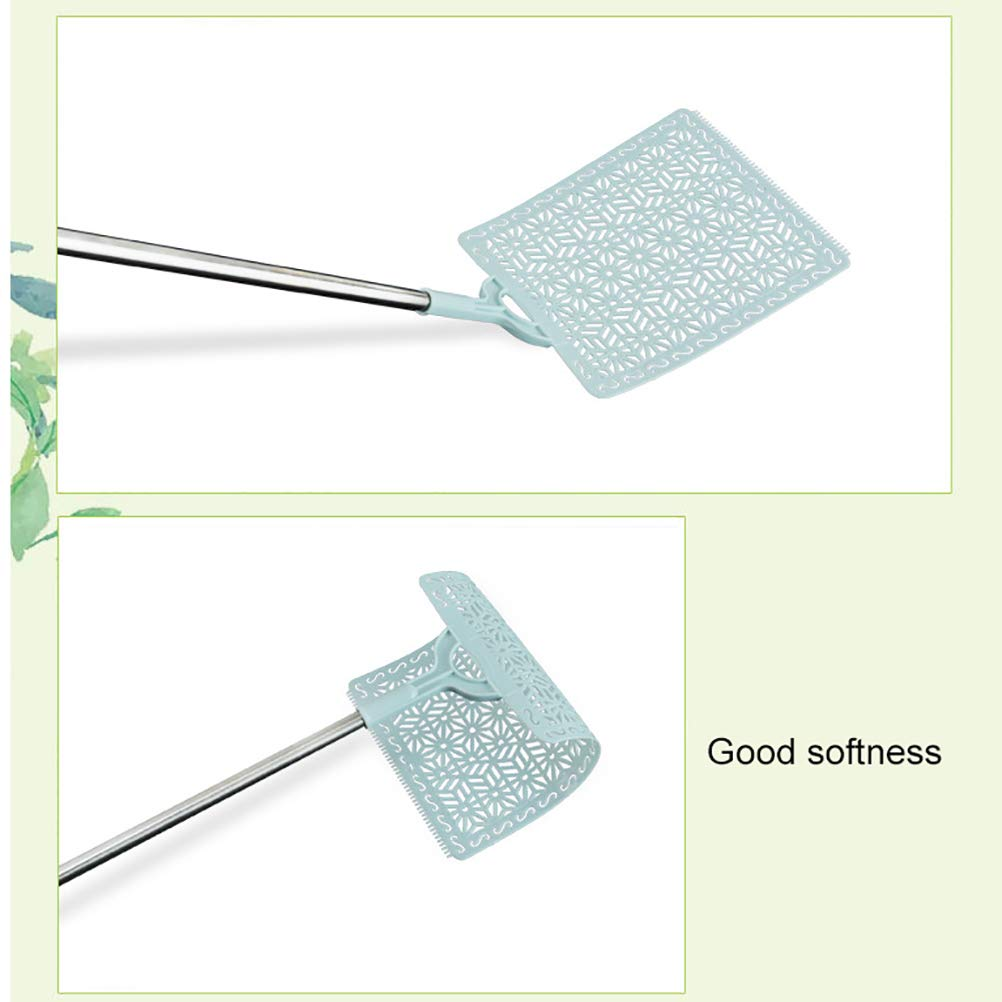 Glomab 3pcs Stainless Steel Retractable Fly Swatter Anti Mosquito Insect Killer Tool