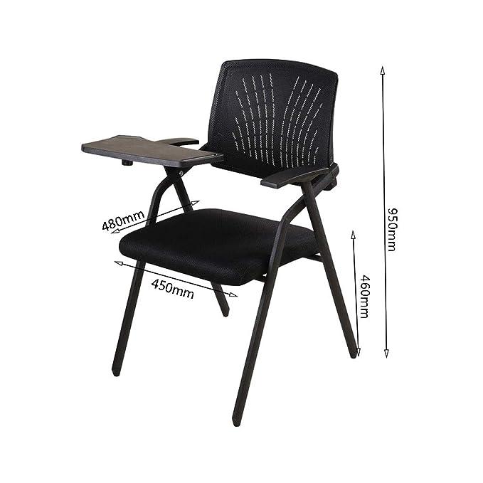 Amazon.com: QYYCzdy - Silla de escritorio plegable con brazo ...
