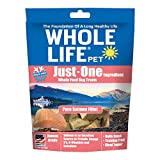 Image of Whole Life Pet Just One-Single Ingredient Freeze Dried Treats for Dogs Pure Salmon Fillet, 2oz (Packaging May Vary)