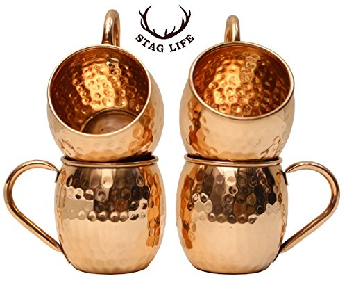 Staglife Hot Coffee Copper Mugs Moscow Mule Copper