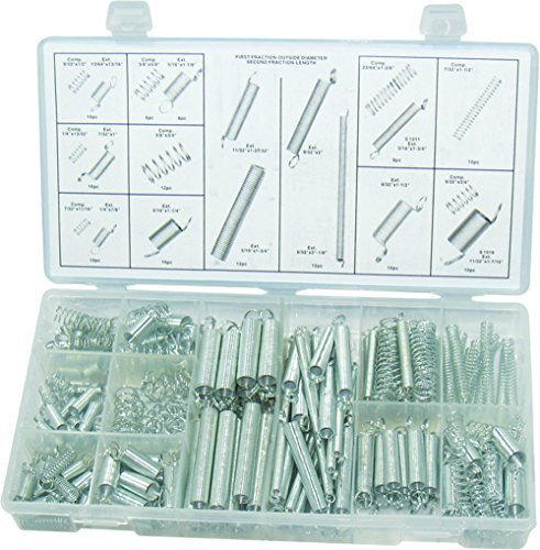 C Extended and Compressed Spring Assortment Case Kit ()