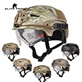 Airsoft Hunting Tactical Helmet Combat Helmet with Goggle (Navy Seals)
