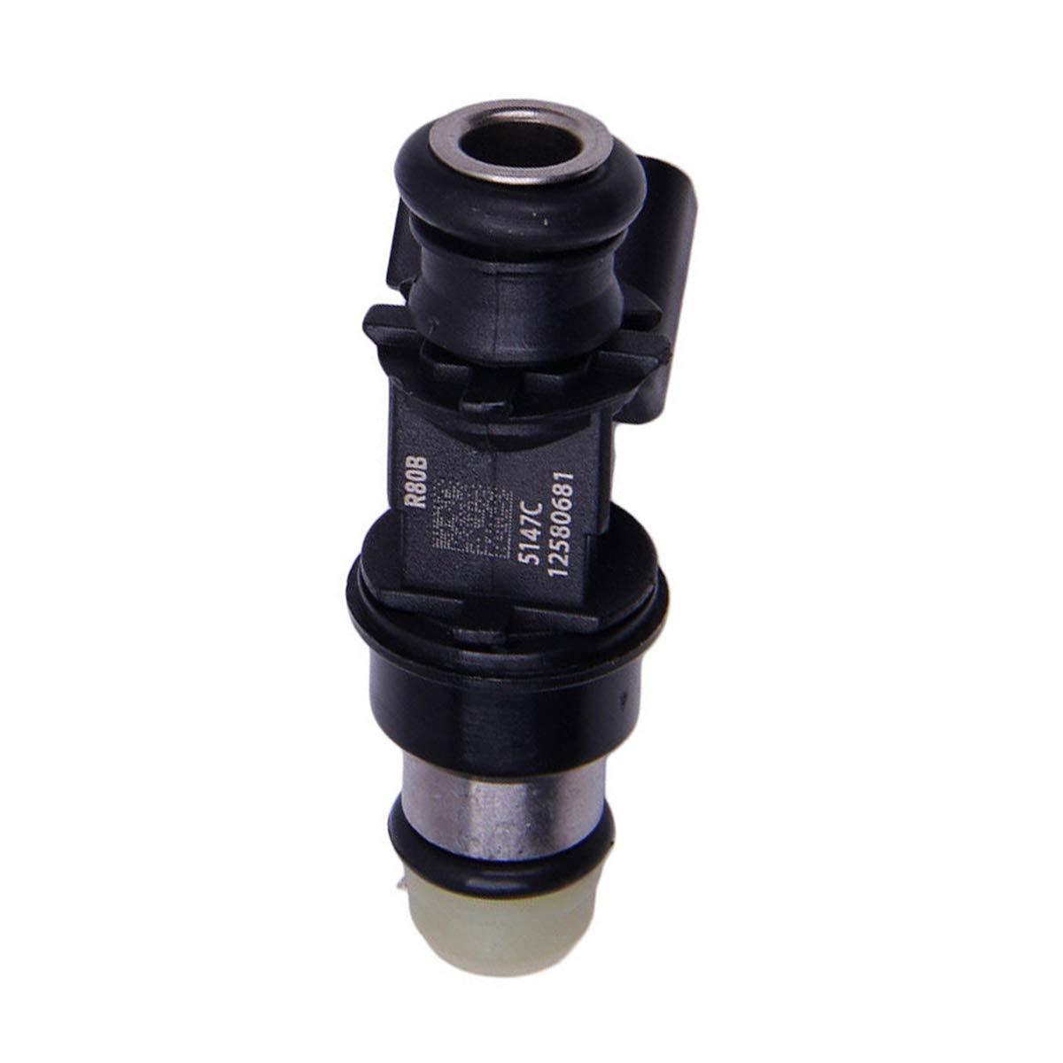 12580681 8125806810 2171621 FJ887 XWAUTOGJ Set Of 4 Fuel Injector Nozzles For 2007 2008 Chevrolet Silverado 3500 6.0L V8