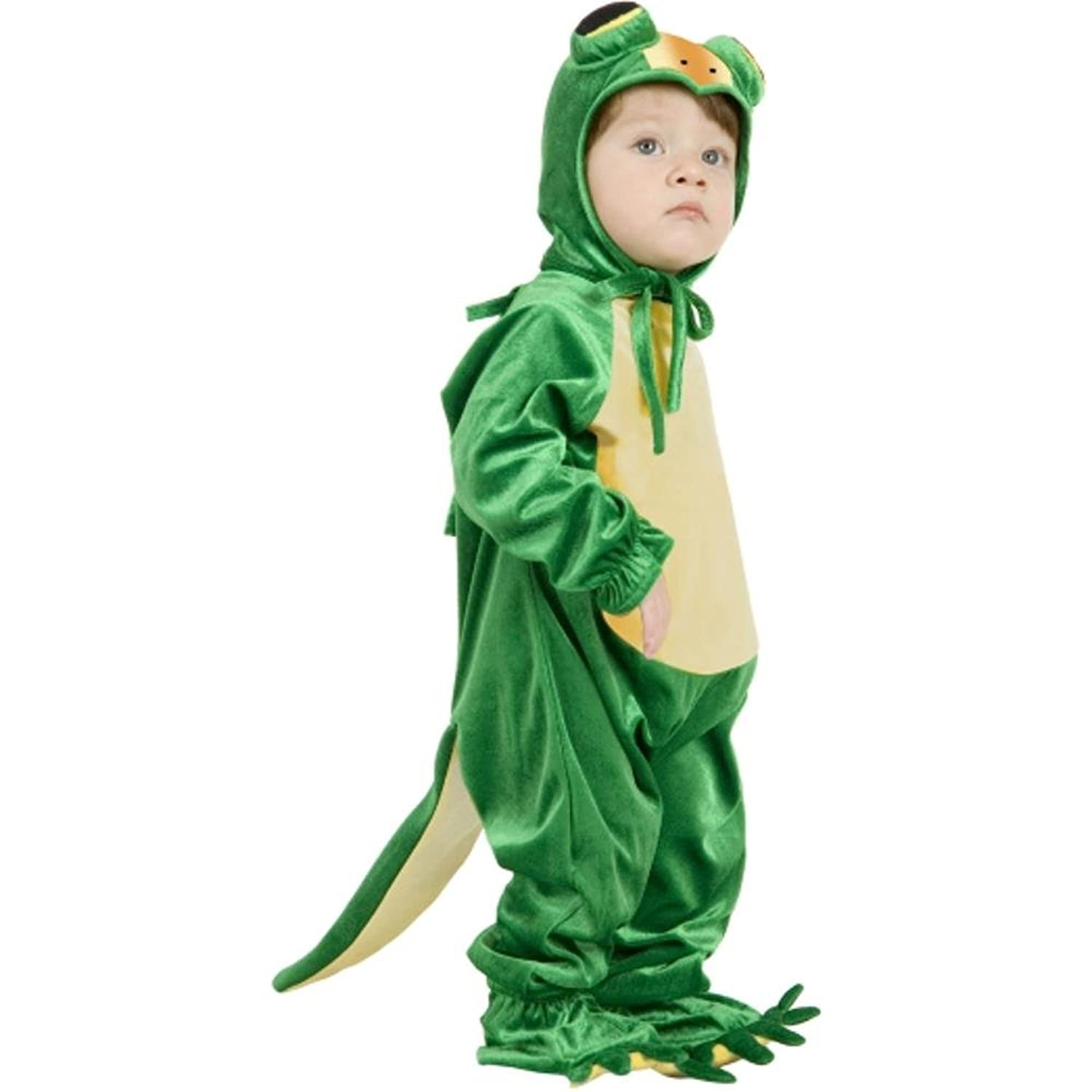 amazoncom toddler little gecko costume size toddler 2t 4t clothing - Halloween Costumes 4t