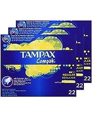 Tampax Compak Tampons met applicator van kunststof