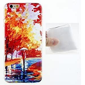 SHOUJIKE Oil Painting Pattern TPU Ultra Soft Case for iPhone 6