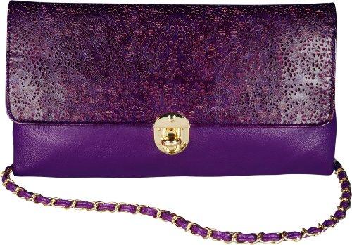 Rosie Fox, Sac à bandoulière violet pour femme Violett -