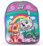 Paw Patrol Little Girls Kids Toddler Preschool Backpack Baby