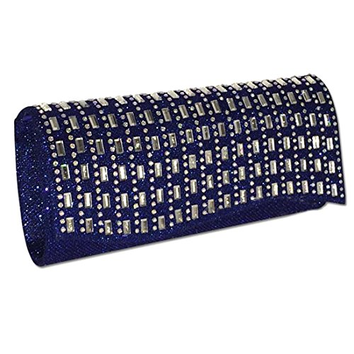 HT Ladies Party Bag - Cartera de mano para mujer azul real