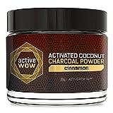 #9: Active Wow Teeth Whitening Charcoal Powder Cinnamon
