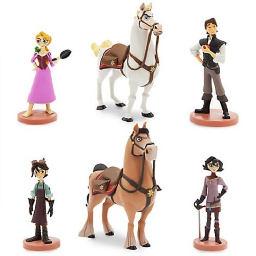 Official Disney Rapunzel Tangled The Series Figurine Playset
