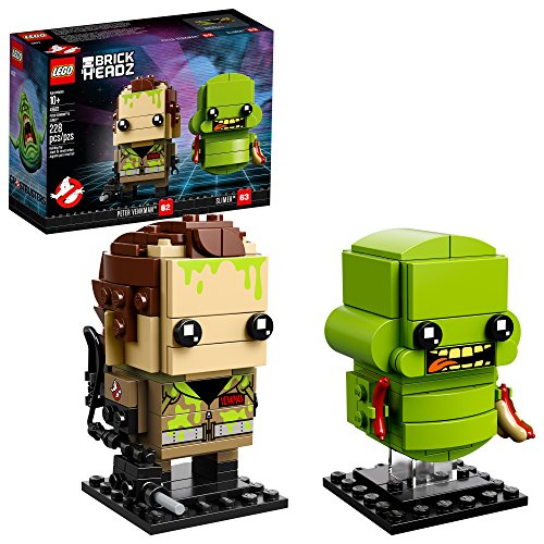 LEGO BrickHeadz Peter Venkman & Slimer 41622 Building Kit (228 Piece) (Amazon Exclusive)