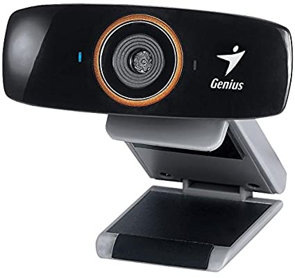 amazon com genius facecam 1020 hd 720p auto focus webcam camera